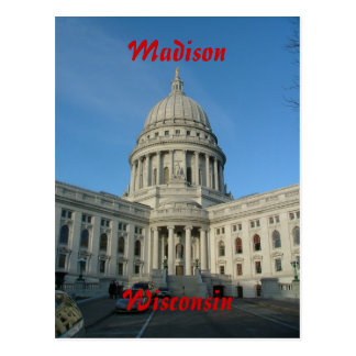 State Capitol - Madison Postcard