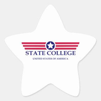 State College Pride Star Sticker