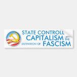 State Controlled Capitalism Bumper Sticker