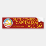State Controlled Capitalism Bumper Stickers