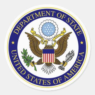 State Department Sticker