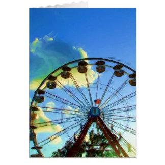 State Fair Ferris Wheel, Indianapolis, Indiana Cards