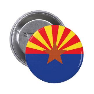 State Flag of Arizona Pinback Button