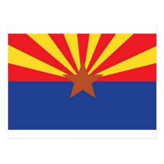 State Flag of Arizona Postcard
