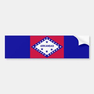 State Flag of Arkansas Bumper Sticker