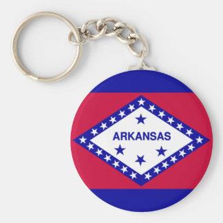 State Flag of Arkansas Key Ring