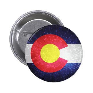 State Flag of Colorado Pinback Button