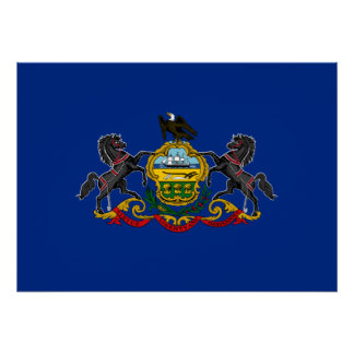 State Flag of Pennsylvania Poster