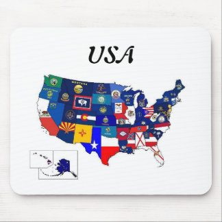 State Flags Mousepad
