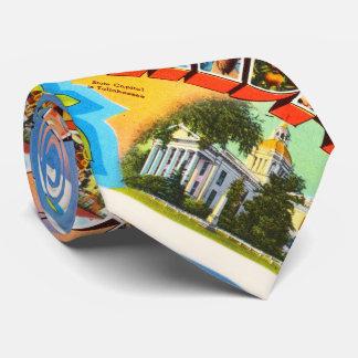 State Florida FL Old Vintage Travel Souvenir Tie