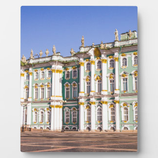 State Hermitage Museum St. Petersburg Russia Plaque