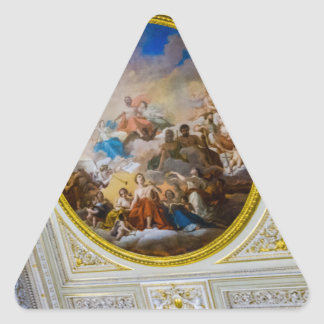 State Hermitage Museum St. Petersburg Russia Triangle Sticker