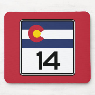 State Highway 14, Colorado, USA Mouse Pad