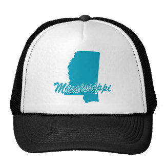 State Mississippi Mesh Hats