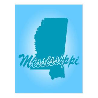 State Mississippi Postcard