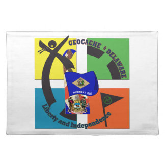 STATE MOTTO  DELAWARE GEOCACHER PLACEMAT