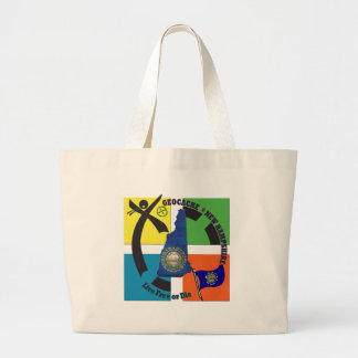 STATE NEW HAMPSHIRE GEOCACHER LARGE TOTE BAG