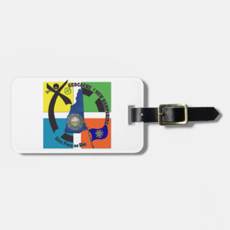 STATE NEW HAMPSHIRE GEOCACHER LUGGAGE TAG