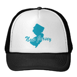 State New Jersey Mesh Hats