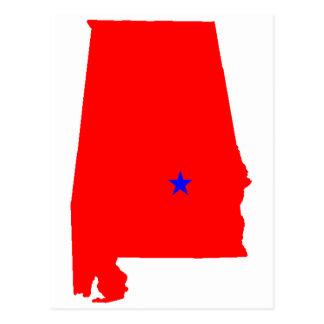 State of Alabama Postcard