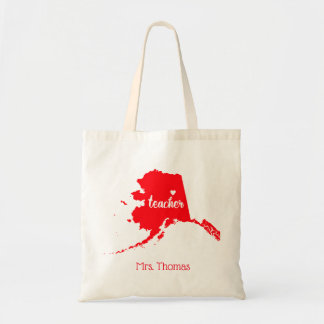 State of Alaska Personalized Teacher Tote