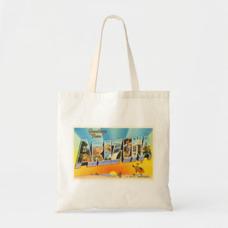 State of Arizona AZ Old Vintage Travel Souvenir