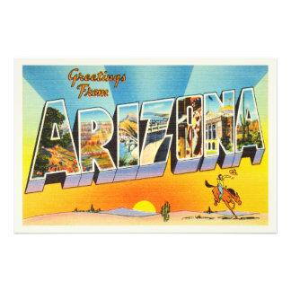 State of Arizona AZ Old Vintage Travel Souvenir Photograph