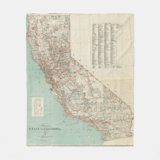 State of California 2 Fleece Blanket