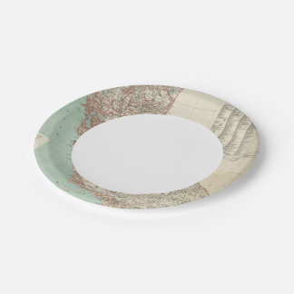 State of California 2 7 Inch Paper Plate