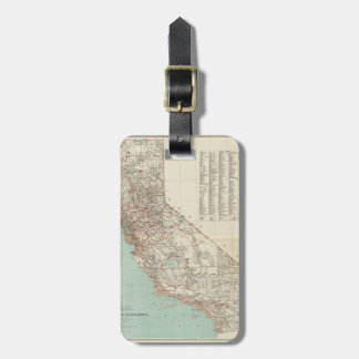 State Of California. Luggage Tag