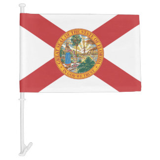 State of Florida Car Flag