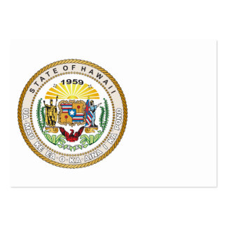 State of Hawaii Great seal Business Card Templates