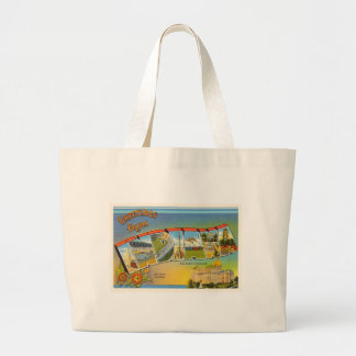State of Indiana IN Old Vintage Travel Souvenir Large Tote Bag
