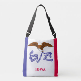 State of Iowa Flag Tote Bag