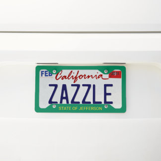 State of Jefferson Licence Plate Frame