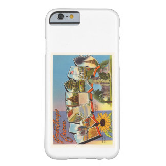 State of Kansas KS Old Vintage Travel Souvenir Barely There iPhone 6 Case