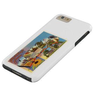 State of Kansas KS Old Vintage Travel Souvenir Tough iPhone 6 Plus Case