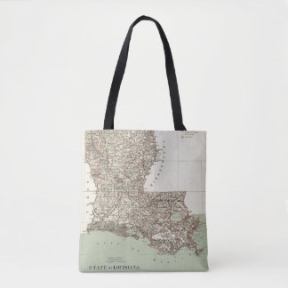 State of Louisiana Tote Bag