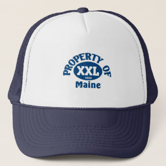 State of maine trucker hat