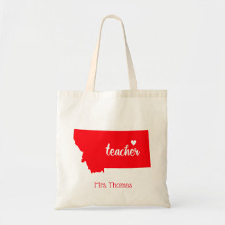 State of Montana Personalized Teacher Tote