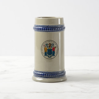 State of New Jersey Seal Beer Steins