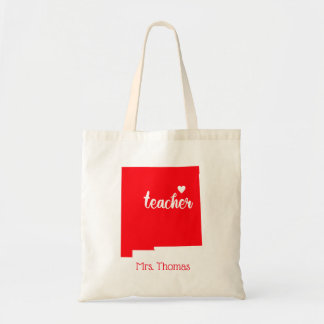 State of New Mexico Personalized Teacher Tote