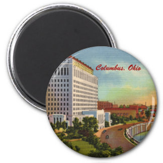 State of Ohio Office Building Magnet