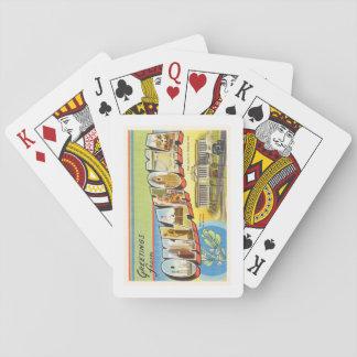 State of Oklahoma OK Old Vintage Travel Souvenir Poker Deck