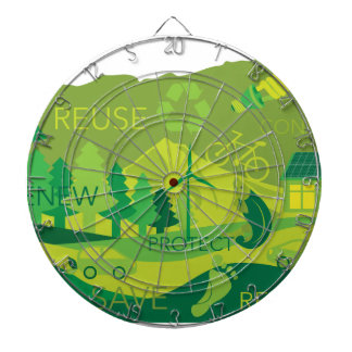 State of Oregon Map Environment Eco Outline Dart Boards