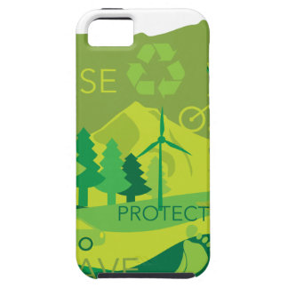State of Oregon Map Environment Eco Outline iPhone 5 Cover