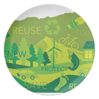 State of Oregon Map Environment Eco Outline Plate