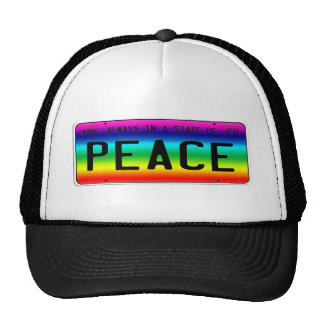 State of Peace Trucker Hats
