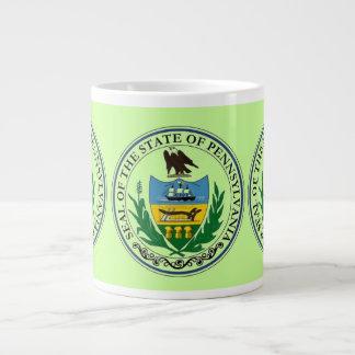 State of pennsylvania 20 oz large ceramic coffee mug