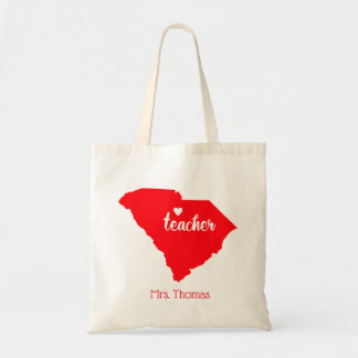 State of South Carolina Personalized Teacher Tote